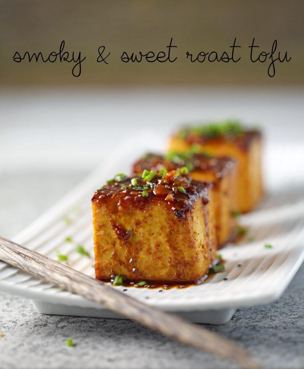 Smoky and Sweet Roast Tofu | My Goodness Kitchen
