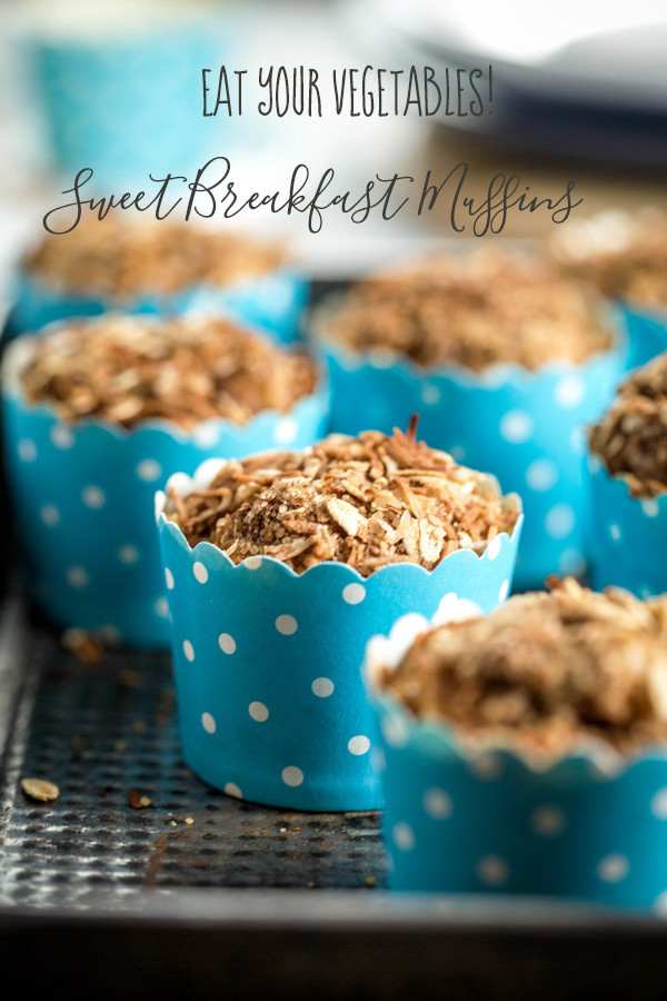 vegetable sweet breakfast muffins
