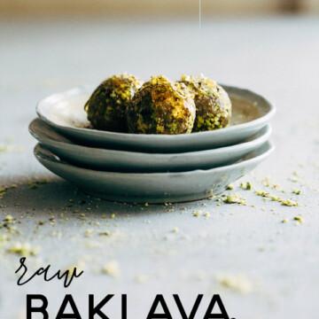 raw baklava balls 1