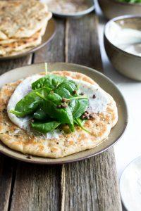 easy za'atar spiced pizzas 5