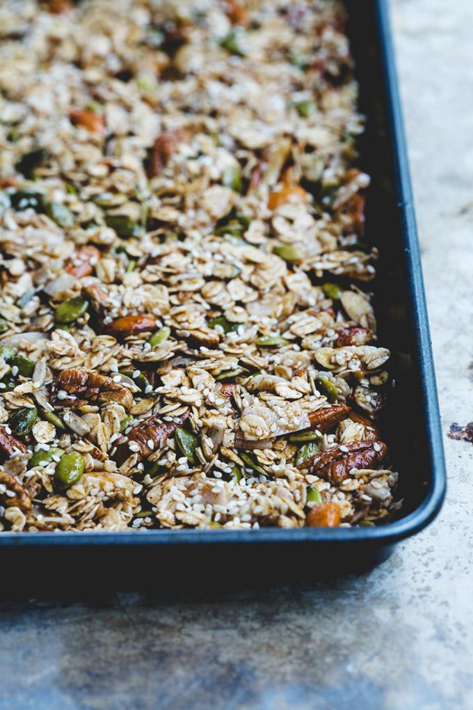wonderfully chunky toasted sesame granola 3