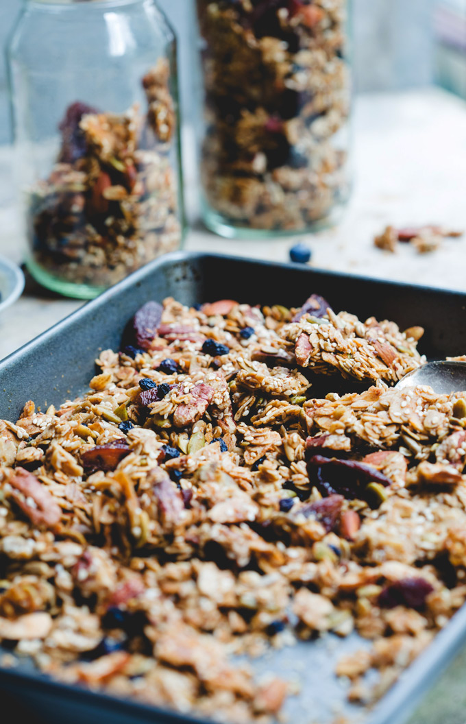 wonderfully chunky toasted sesame granola 4