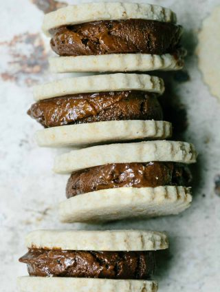 Pretty Darn Healthy Chocolate Ice-Cream Sandwiches