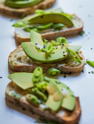 Fresh Wasabi Pea Avocado Toast