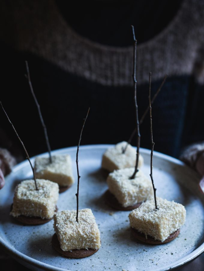 Homemade Vegan Maple Marshmallows