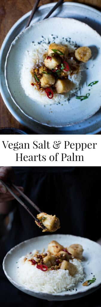 Date Night Salt and Pepper Hearts of Palm