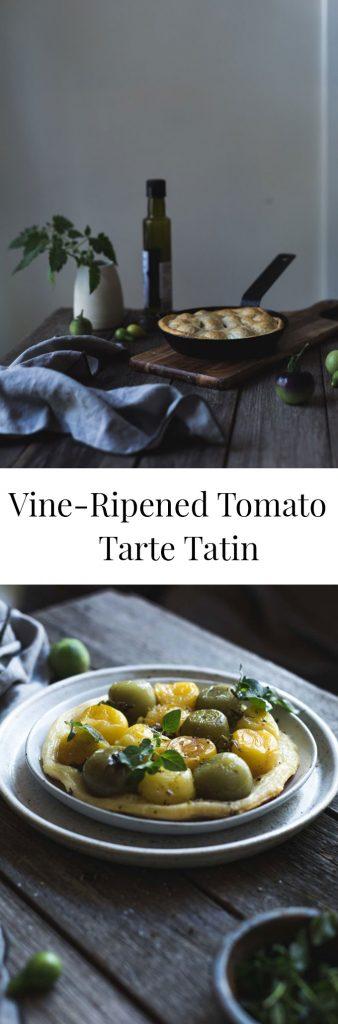 Vine-Ripened Tomato Tarte Tatin