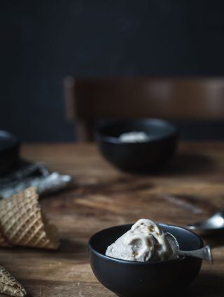 Wonderfully Decadent Vegan Gingerbread Ice-cream