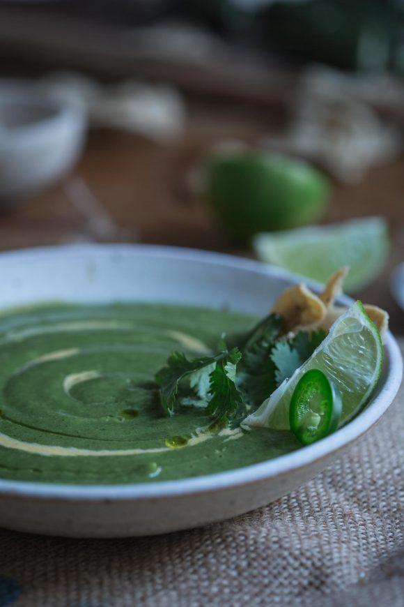 Cheesy Jalapeño Broccoli Soup