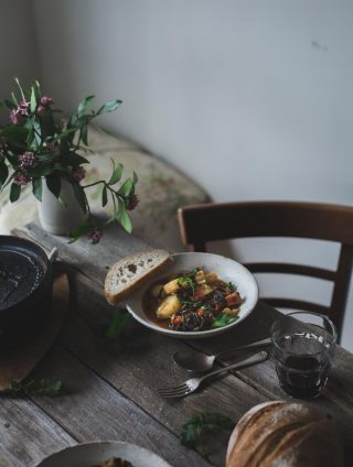 Swiss Chard and Pimentón Stew with Lentils