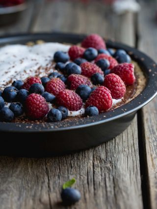 Soy-free Silken Chocolate Pie to Blow Your Mind (V, GF)