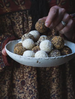 Trouble-Free Vegan Truffles (3-ways)