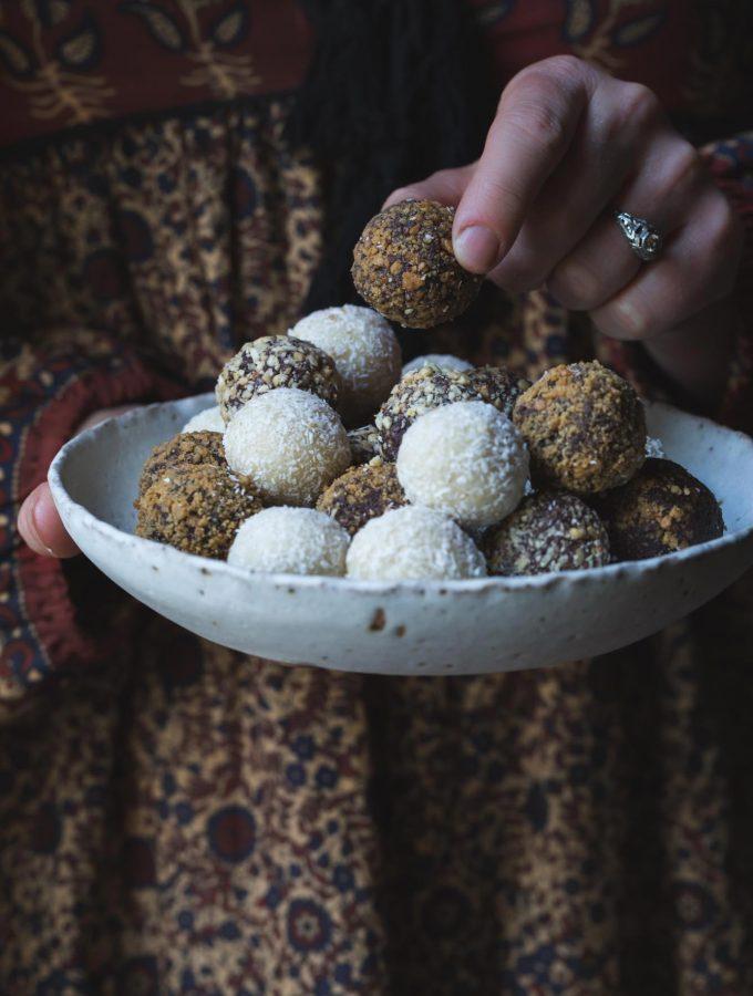 Trouble-Free Vegan Truffles (3-ways)