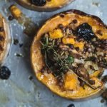 Filled with all the flavours of Christmas, this Simply Festive Stuffed Squash is a completely delicious but lighter twist on the Christmas Roast