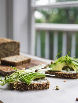 Completely Seeded Vegan Pumpkin Toast Recipe