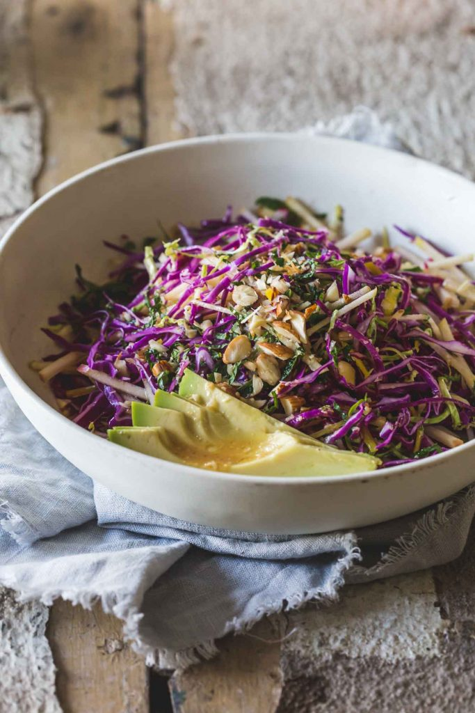 When your body needs a boost, this delicious detox salad with orange miso dressing is not only nourishing but completely yum | my goodness kitchen | raw | vegan