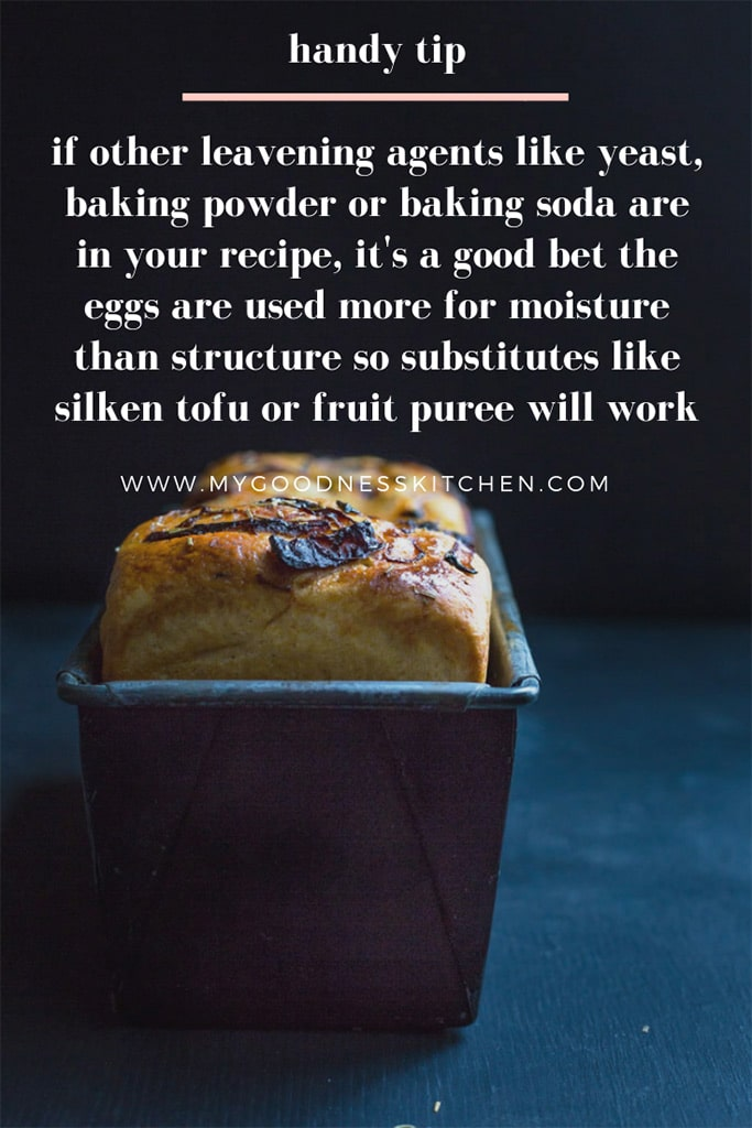 A loaf of bread in a bread tin with text